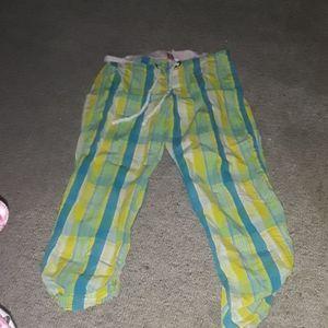 VS PINK retro PJ pants